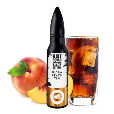Riot Squad Black Edition - Ultra Peach Tea 15ml (Longfill)